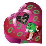 M&M's - M&m's Cupid's Mix Milk Chocolate Candies Heart Boxes 0040000445661  / UPC 040000445661
