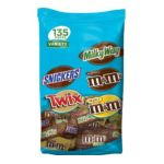 Mars Mix chocolate bar - Mars Fun Size Mix Variety Stand-up Pouch 0040000456919  / UPC 040000456919