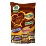 Mars Mix chocolate bar - Mars Mix Variety Caramel Lovers Stand-up Pouch 0040000464426  / UPC 040000464426