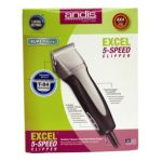 Andis -  Company Excel Variable 5 Speed Clipper With T-84 Blade 84 blade 0040102632150