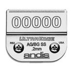 Andis -  Ultra Edge Stainless-steel Blade Size 00000 Ss 1 125 0.2mm Model 64740 0040102647406