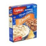 Lipton - Gefen Kosher Soups Kosher Recipe Secrets Onion Soup 0041000005190  / UPC 041000005190