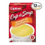 Lipton - Cup-a-soup Cream Of Chicken 0041000014819  / UPC 041000014819