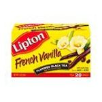 Lipton - Flavored Black Tea French Vanilla Tea Bags 0041000101045  / UPC 041000101045