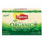 Lipton - Green Tea Bags Organic 0041000223273  / UPC 041000223273