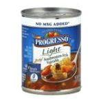 Progresso - Soup Light Zesty Southwestern-style Vegetable 0041196404739  / UPC 041196404739