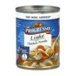 Progresso - Soup Light Chicken Noodle 0041196404821  / UPC 041196404821