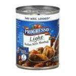 Progresso - Light Italian Style Meatball Soup 0041196419320  / UPC 041196419320