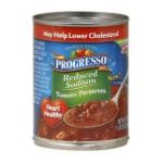 Progresso - Reduced Sodium Tomato Parmesan Soup 0041196474398  / UPC 041196474398