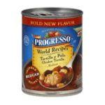 Progresso - World Recipes Tortilla Y Pollo Chicken Tortilla Medium Soup 0041196476033  / UPC 041196476033