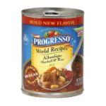 Progresso - World Recipes Albondigas Meatball & Rice Mild Soup 0041196476040  / UPC 041196476040