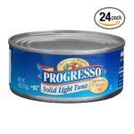 Progresso - Solid Light Tuna 0041196890334  / UPC 041196890334