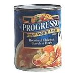 Progresso - Soup Roasted Chicken Garden Herb 0041196910520  / UPC 041196910520