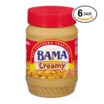 Welch's -  Bama Peanut Butter Creamy Packages 0041259211069