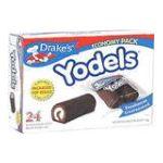 Drake's -  Yodels Devil's Creme Filled Food Cakes 24 cakes 0041261250049