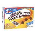 Drake's -  Mini Round Funny Bones Devil's Food Cakes 40 cakes 0041261250063