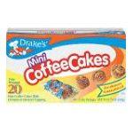 Drake's -  Mini Coffee Cakes Economy Pack 40 cakes 0041261250094
