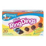 Drake's -  Mini Ring Dings 0041261254504