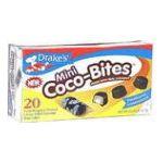 Drake's -  Mini Coco-bites Creme Filled Coconut Cakes 20 cakes 0041261254573
