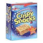 Drake's -  Crispy Snacks Chocolate Chip 8 squares 0041261265456