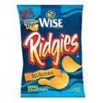 Wise -  Ridged Potato Chips 0041262270718