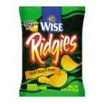 Wise -  Potato Chips Ridgies Sour Cream & Onion 0.75 0041262275119