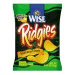 Wise -  Potato Chips Ridgies Sour Cream & Onion 0041262276406