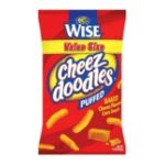 Wise -  Cheez Doodles Cheese Flavored Corn Snacks 0041262276512