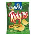 Wise -  Ridged Potato Chips 0041262280250