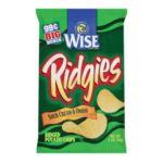 Wise -  Potato Chips Ridgies Sour Cream & Onion 0041262280335