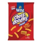 Wise -  Cheese Flavored Corn Snacks 0041262280342