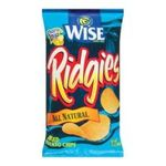 Wise -  Ridgies All Natural Chips 0041262281486