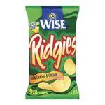 Wise -  Ridgies Sour Cream & Onions 0041262281493