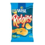 Wise -  Ridgies All Natural Ridged Potato Chips 0041262284272