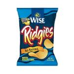 Wise -  Ridged Potato Chips 0041262286207