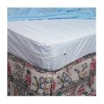 Duro-med -  554-8069-1951 Full Zippered Plastic Mattress Protector For Home Beds 54 in 0041298003304