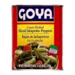 Goya -  Green Jalapenos Sliced 11 0041331028585