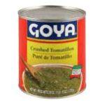 Goya -  Crushed Tomatillos 0041331028707