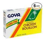Goya -  Cubitos En Polvo Display Unit 0041331032452