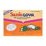 Goya -  Goya Sazon Culantro And Annatto Econopack 0041331037792