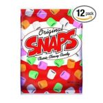 American Licorice Company -  Original Snaps Classic Chewy Candy Bags 0041364083001