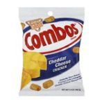 Combos - Cheddar Cheese Cracker Snacks 0041419162873  / UPC 041419162873