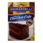 Ghirardelli -  Ultimate Chocolate Cake 7 lb 0041449035161