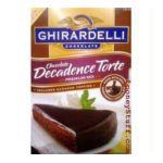 Ghirardelli -  Chocolate Decadence Torte 0041449035222