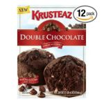 Ghirardelli -  Krusteaz Chocolate Muffin Mix Double Chocolate Boxes 0041449301709