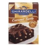 Ghirardelli -  Chocolate Caramel Turtle Brownie Mix Boxes 0041449302522