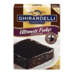 Ghirardelli -  Chocolate Brownie Mix Ultimate Fudge Boxes 0041449302645