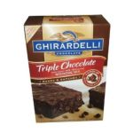 Ghirardelli -  Ghirarelli Tripple Chocolate Brownie Mix Semi-sweet Milk Bittersweet 3400-gram 0041449305486