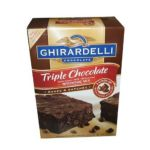 Ghirardelli -  Triple Chocolate Chip Brownie Mix 0041449479002