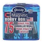 Goody -  Magnetic Bobby Box 75 pins 0041457015230